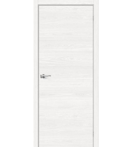 Межкомнатные двери  Браво-0  White Skyline