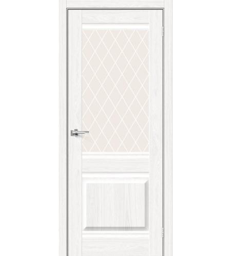 Межкомнатные двери  Прима-3  White Dreamline