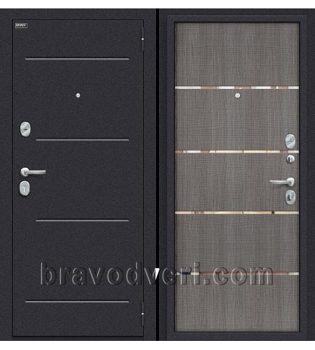 Входные двери  Лайн  Лунный камень/Grey Crosscut