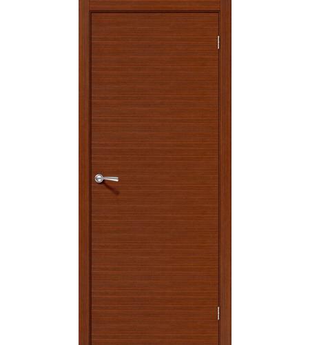 Межкомнатные двери  Дверь межкомнатная шпонированная «Соло-0.H»  Ф-15 (Макоре)