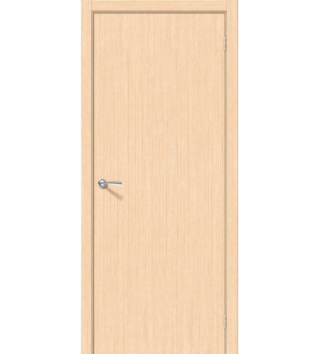 Межкомнатные двери  Дверь межкомнатная шпонированная «Соло-0.V»  Ф-22 (БелДуб)