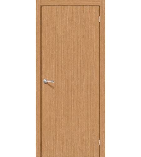 Межкомнатные двери  Дверь межкомнатная шпонированная «Соло-0.V»  Ф-01 (Дуб)